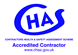 Chas Accredited Contrator Logo